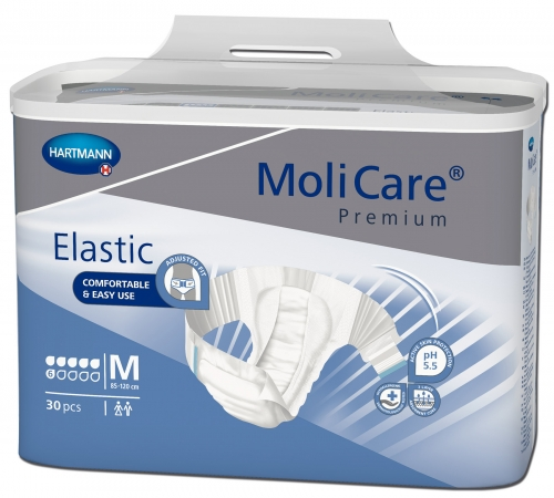 Molicare Premium Elastic 6 Gouttes HARTMANN – Change complet, couche élastique