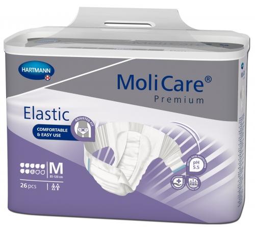 Molicare Premium Elastic 8 Gouttes HARTMANN – Change complet, couche élastique taille M