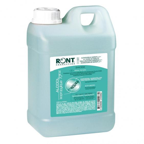 alcool isopropylique bidon 2 litres